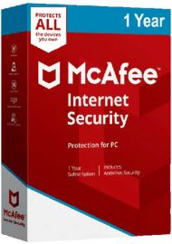McAfee Internet Security Unlimited 1 Year [EU]