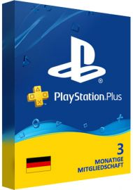 Playstation Plus PSN Cards - 90 Days DE