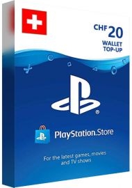 PSN 20 CHF (CH) - PlayStation Network Gift Card