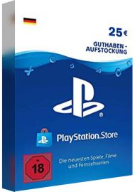 PSN 25 EUR (DE) - PlayStation Network Gift Card