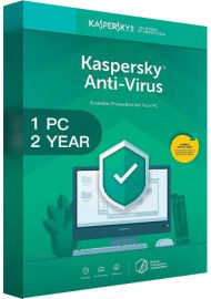 Kaspersky Antivirus 2020 - 1 PCs - 2 Years [EU]