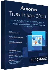 Acronis True Image 2020 - 3 PCs MAC [EU]