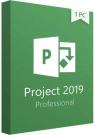Microsoft Project Professional 2019 - 1 PC
