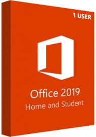 Microsoft Office 2019 Home and Student - 1 User