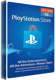 Playstation PSN Gift Cards - 20  USD