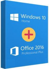 Office 16 Pro + Win 10 Home Bundle