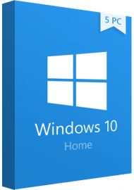 Windows 10 Home - 5 PCs