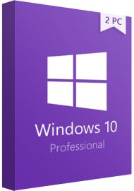 Windows 10 Pro Professional - 2 PC