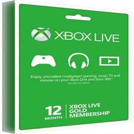Xbox Live Gold Membership - 12 Month Global